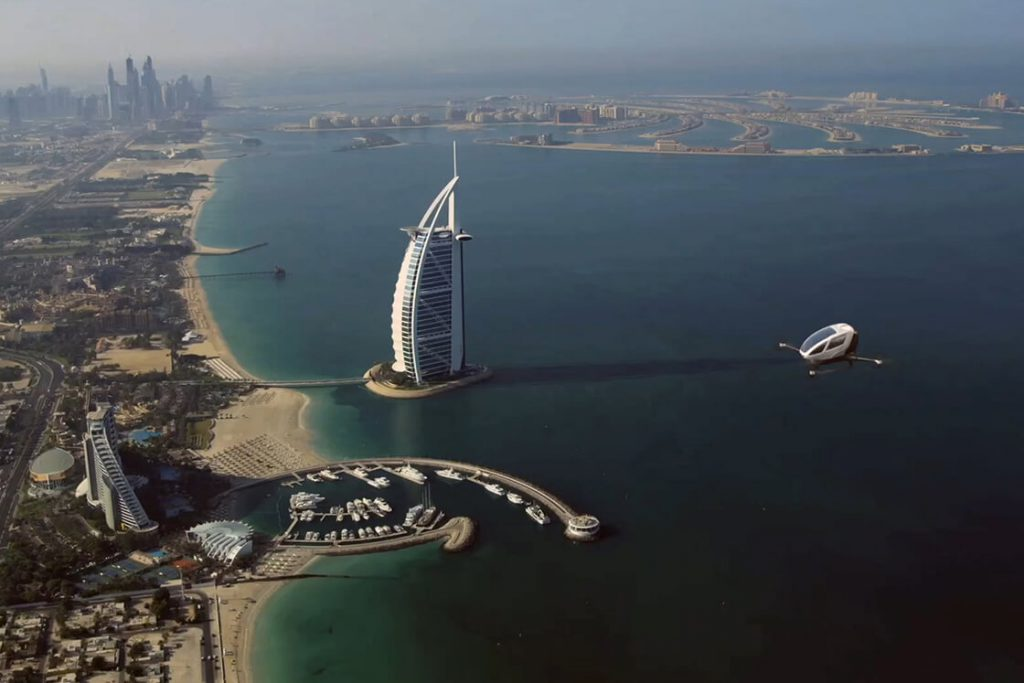 Ehang_airtaxi_FACC1_flying_in-DUBAI2020