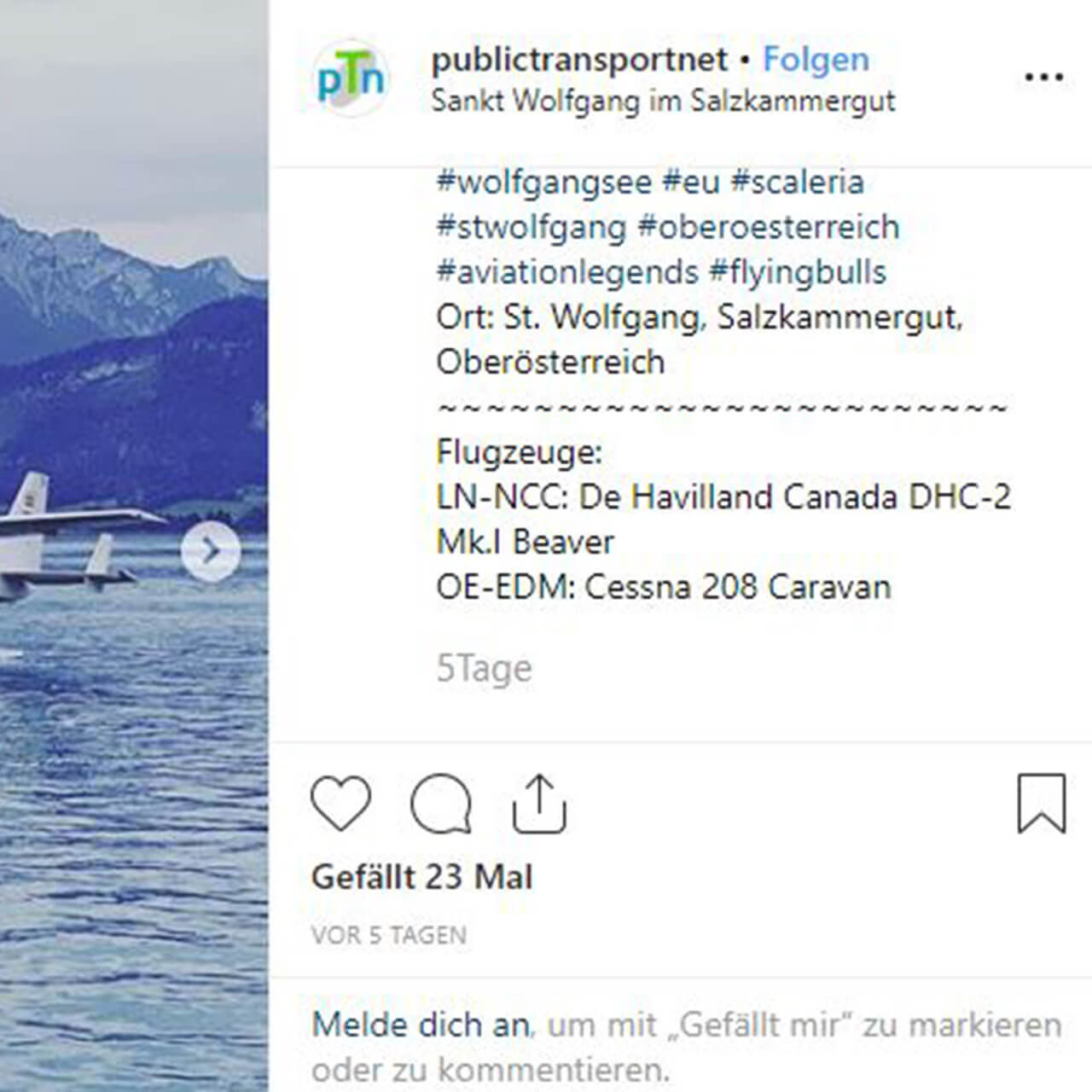 Instagram Publictransportnet